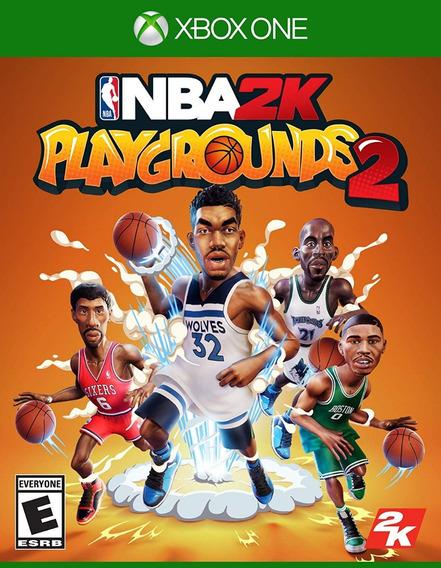 Nba 2k Playgrounds 2 - Xbox One - Mídia Física