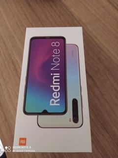 Celular Redmi Note 8 64g 4 Dias De Uso