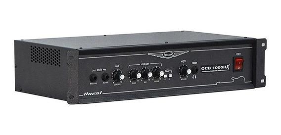 Amplificador Cabeçote Contra Baixo Oneal Ocb 1000h 350w