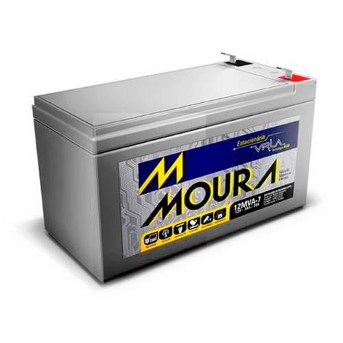 Bateria Telecomunicações Circuito Fechado Tv 12 Mva-7 12v 7a