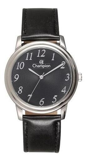 Relógio Champion Masculino Pulseira De Couro Ch22760t