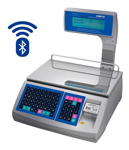 Balanza Electronica Kretz Report Lt 31kg Bluetooth Uso Intensivo Multirango Ideal Carnicerias