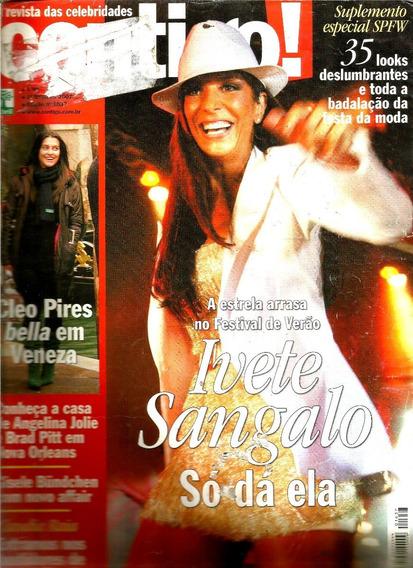 Revista Contigo 1637/07 - Ivete/angélica/cleo/ana Arosio/