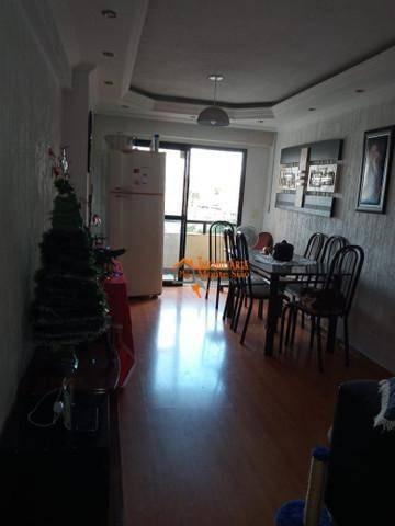 Imagem 1 de 6 de Apartamento À Venda, 74 M² Por R$ 374.400,00 - Vila Galvão - Guarulhos/sp - Ap2780
