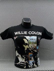 Camiseta Adulto Musica Salsa Hector Lavoe Willie Colon