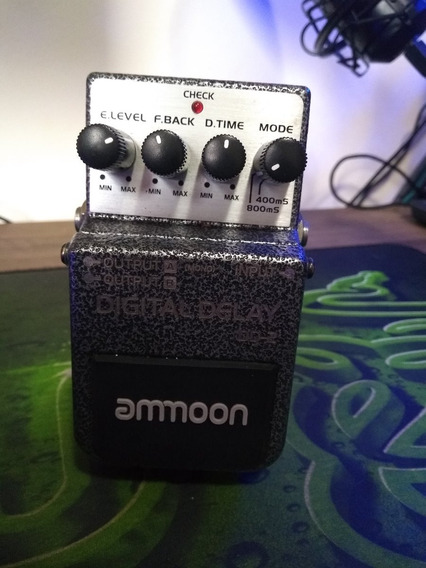 Pedal Ammoon Dd 2 Digital Delay (ñ Boss)