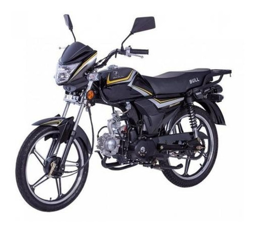 Moto Ciclomotor Krc 50cc Preto - Bull Motors