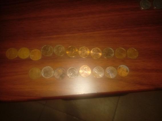 Monedas Antiguas De Los Estados Unidos De 1776 Y 1970 En Ade