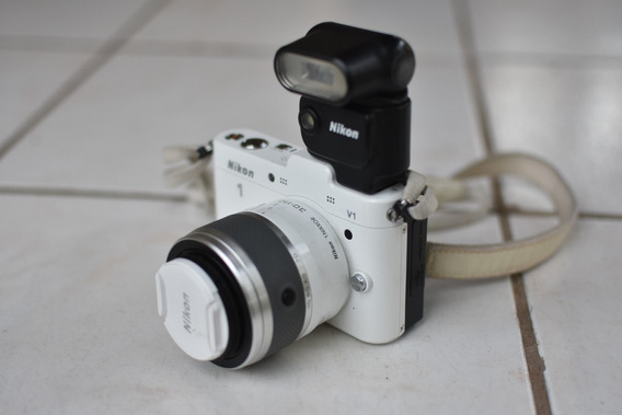 Nikon 1 V1 + Lente 30-100mm + Adaptador Ft1