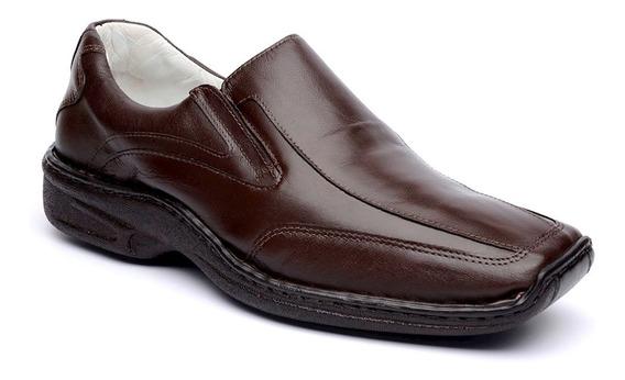 Sapato Masculino Couro Legítimo Confortável Frete Grátis