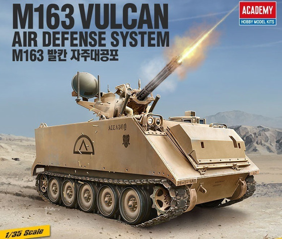 Tanque M163 Vulcan Air Defense System - 1/35 Academy 13507