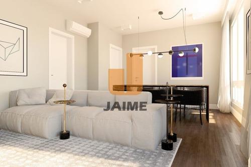 Apartamento Para Venda No Itaim Bibi Reformado  E Em Ótima Localização - Bi4425
