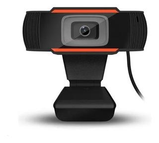 Webcam Microcase Hd 720p Usb Microfono Video Zoom Cuotas