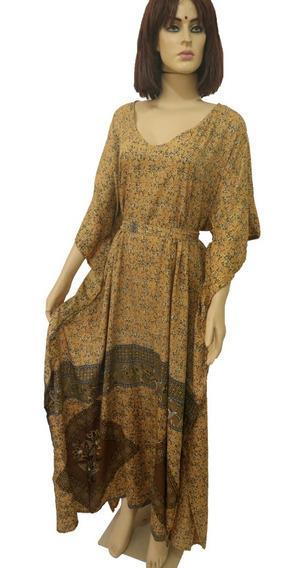 Vestido Longo Indiano 2 Formas De Usar, Vestido Vira Kaftan