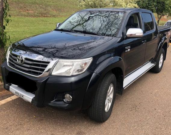 Toyota Hilux 2.7 Srv Cab. Dupla 4x4 Aut. Flex 4p