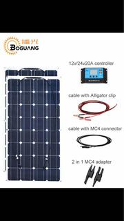 Kit De Paneles Solares X2 De 200w