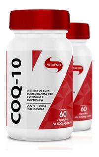 Kit 2 Coenzima Vitafor - Coq-10 - 60 Cápsulas