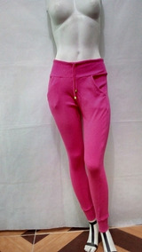 Calça Ribana Tipo Moletom Feminina Moda Cintura Alta Inverno