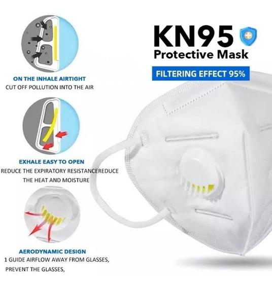 Respirador Cubrebocas N95 1 Pieza Con Filtro / Valcula