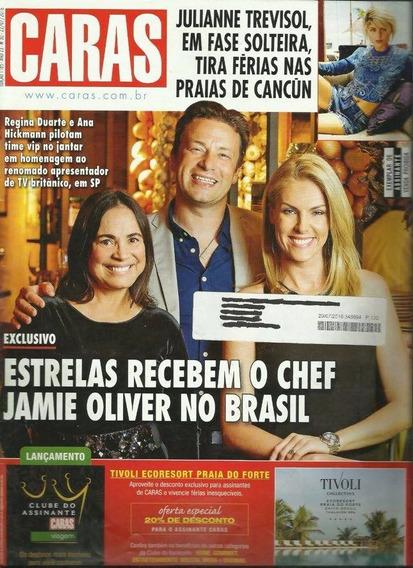Caras 1185: Jamie Oliver / Ana Hickmann / Paulo Ricardo
