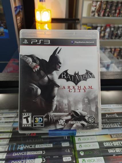 Batman Arkham City Ps3 Mídia Física Semi Novo
