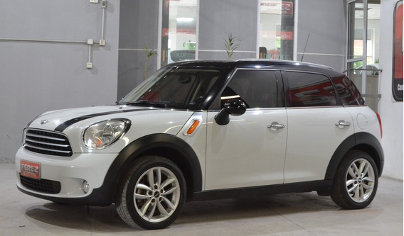 Mini Cooper Countryman Nafta 2012 5 Puertas Color Blanco