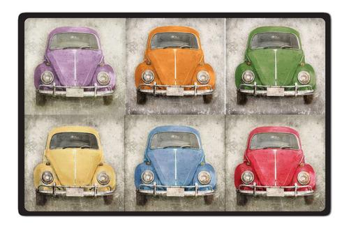 Imagen 1 de 7 de Carteles Decorativos Chapa De Madera - 19x29 Escarabajo