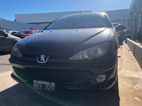 Peugeot 206 Premium 1.6 2008 Negro Oferta Hce #expoauto