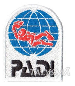 Patch P/ Camisa Curso Mergulhador Profissional Padi Dv30168