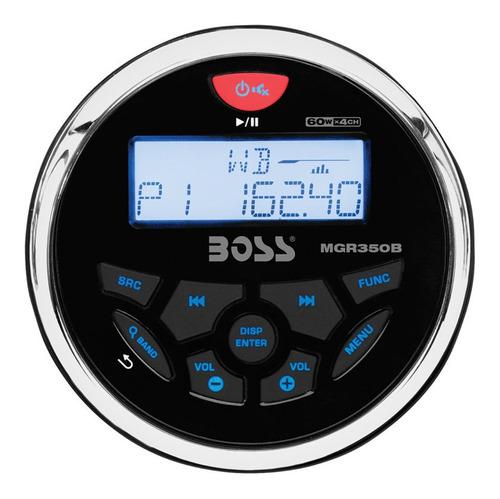 Stereo Náutico Boss 60w X4 (mp3-usb-bluetooth) Lancha
