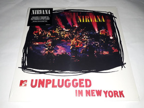 Lp Nirvana Mtv Unplugged In New York Vinil Novo E Lacrado