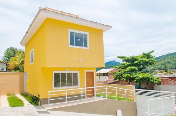 Casa Em Serra Grande, Niterói/rj De 76m² 2 Quartos À Venda Por R$ 350.000,00 - Ca549255