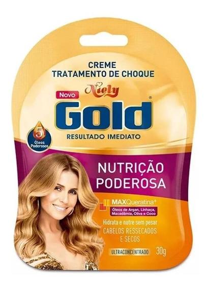 Niely Gold Sachê Tratamento De Choque Nutrição Poderosa