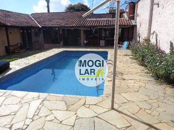 Casa Com 6 Dormitórios À Venda, 450 M² Por R$ 1.100.000,00 - Alto Ipiranga - Mogi Das Cruzes/sp - Ca0008