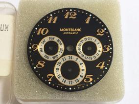 Montblanc Mostrador Para Relógio Star 38mm Dual Time Automat