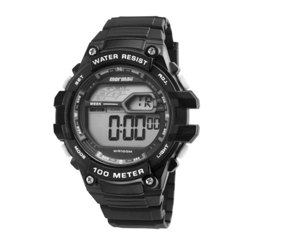 Relógio Mormaii Masculino Wave Mo3480/8k Preto - Oferta