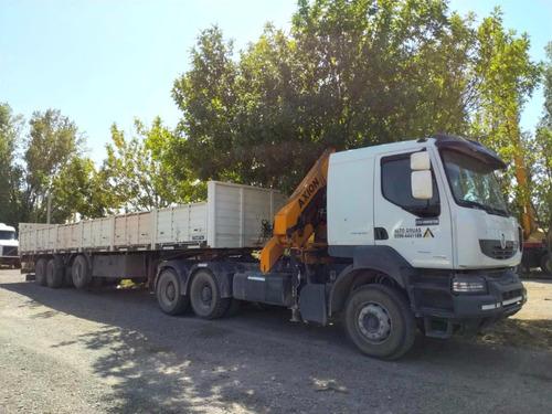 Imagen 1 de 6 de Renault  Kerax440 6x4 Tractor + Hidrogrua Axion + Semi