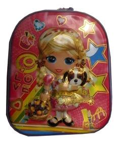 Mochila Infantil Feminina Frozen Personagens Até 4 Anos