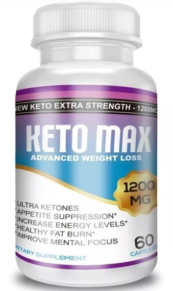 Keto Max 1 Frasco 1200 Mg Original Envio Gratis