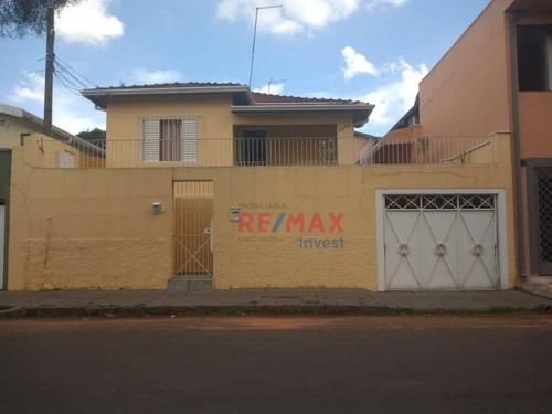 Imagem 1 de 27 de Casa Com 3 Dormitórios Para Alugar, 180 M² Por R$ 1.550,00/mês - Centro - Botucatu/sp - Ca1059