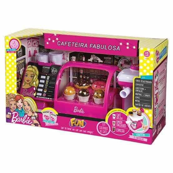 Barbie Cafeteria Fabulosa Ref 8169-9 Da Marca Fun