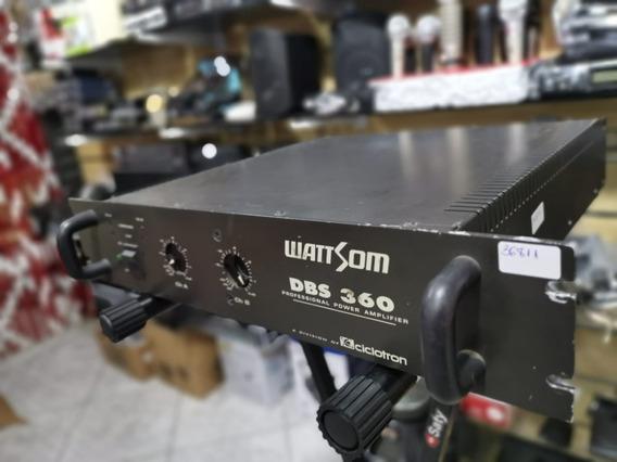 Amplificador De Potência Wattsom Dbs 360