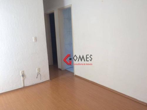 Apartamento Com 2 Dormitórios À Venda, 62 M² Por R$ 280.000 - Chácara Inglesa - São Bernardo Do Campo/sp - Ap2755