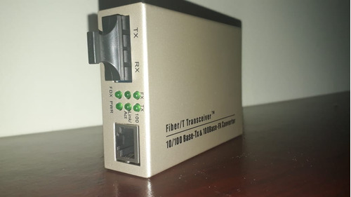 Ethernet Media Converter Sc/mm, 100m Dual Fiber, 1310nm 0 2k
