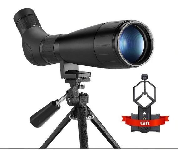 Monóculo Profissional Zoom 20x - 60x60 Lente Bak4 Com Tripe