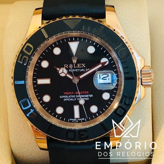 Relógio Rolex Yacht-master 40 Gold