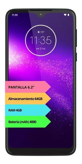 Celular Motorola Moto One Macro 4g 64gb 4gb Gtia Oficial 12c