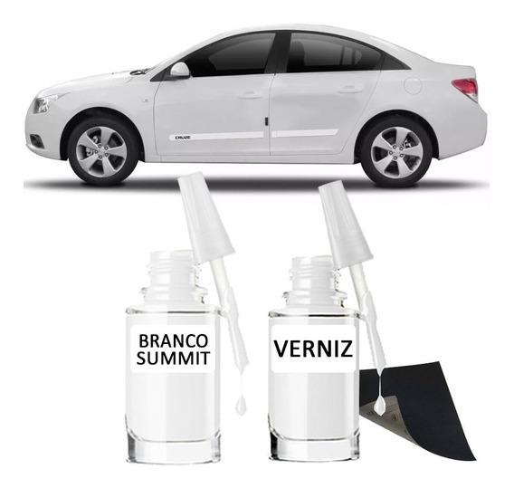 Tinta Tira Risco Automotivo Chevrolet Cruze Branco Summit