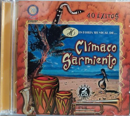 Clímaco Sarmiento - Historia Musical 40 Exitos 2 Cds