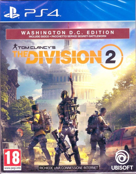 The Division 2 Washington D.c. Edt. - Ps4 - Midia Fisica!